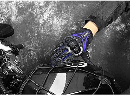 L/&Q Guanti Moto Full Finger Quattro Stagioni In Sella A Locomotiva Guanti Anti-caduta Off-road Design Touch Screen Guanti Uomo E Donna