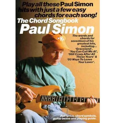 Paul Simon: The Chord Songbook)] [Author: Paul Simon] published on ...