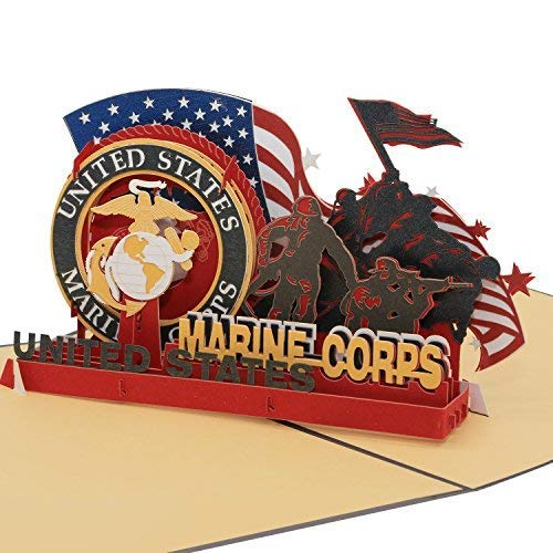 Sweet Land of Liberty Brave Soldiers of US Army  3D Pop Up Greeting Card  Father#039s Day Gift Birthday Card Graduation Card Anniversary Card Marine By AITpop