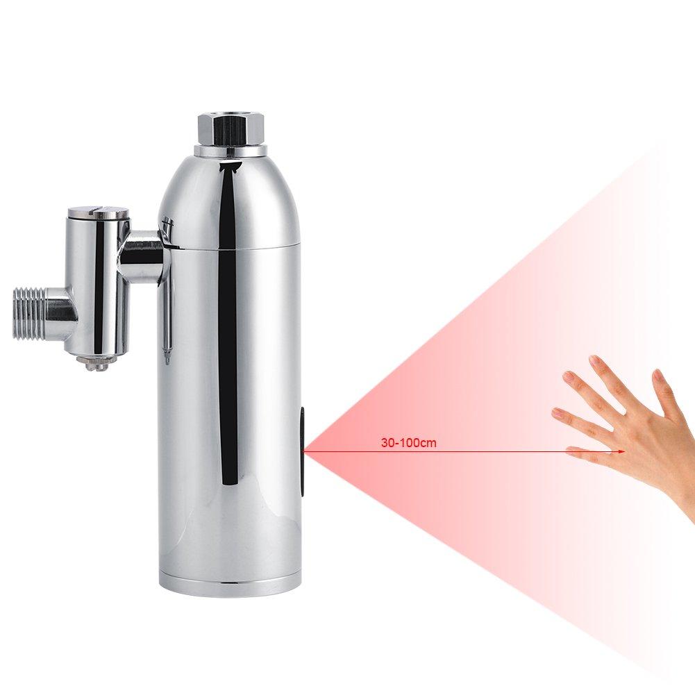 Urinoir Robinet de Chasse Automatique Infrarouge Intelligent Sensor en Laiton Robinet de Chasse Toilet. Garsent Nettoyage Urinoir