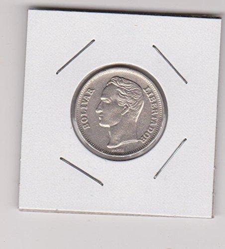 1977 Venezuela Classic Head Dollar Choice About Uncirculated Details