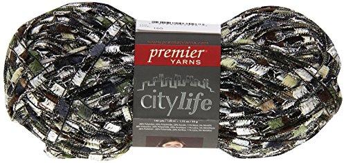 Premier Yarns City Life Ladder Yarn, Tea - City Life Ladder Yarn