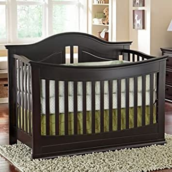 Rockland Austin Convertible Crib   Espresso   Finish Wood   Crib To Toddler  Daybed   Full
