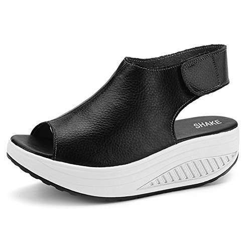 shake-womens-shape-ups-leather-strength-fitness-comfort-walking-wedges-sandals-platform-shoes-for-wo