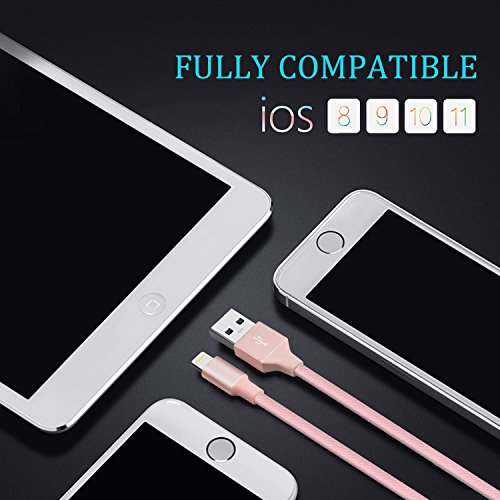 iPhone Charging Cable, Quntis iPhone Charger 3Pack 3FT 6FT