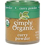 Simply Organic Curry Powder, Certified Organic | 0.53 oz | Pack of 6