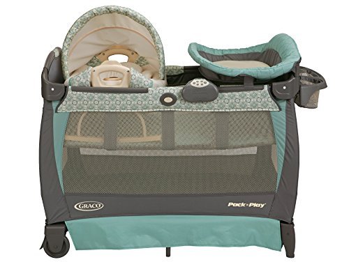 Graco Pack 'n Play Playard with Cuddle Cove Rocking Seat, Winslet