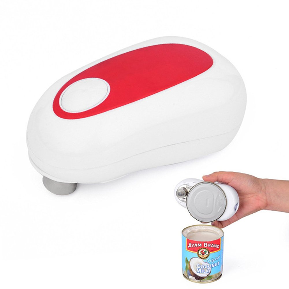 SODIAL New Arrival Bottle Opener Fashion Design Electric Can Opener Automatic Multifunction Opener Kitchen Tools