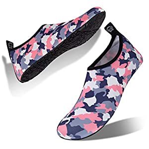 IceUnicorn Water Shoes Quick Dry Swim Aqua Barefoot Socks for Women Men 24