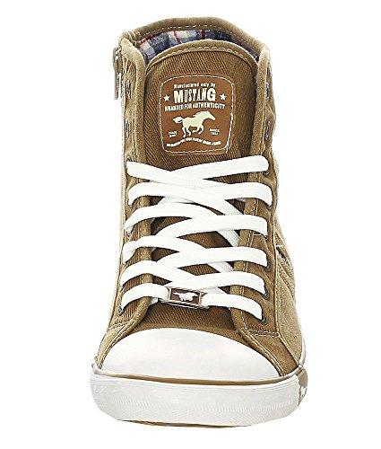 44 Sand Braun Sneaker Mustang Herren 4058504 qRawH7aWv