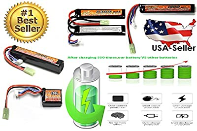 Hot Selling New LiPo Lithium Polymer Airsoft AEG PEQ Battery Connector Mini-tamiya Plug with 16 G wire for RC Cars Airplane Airsoft