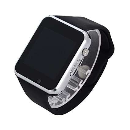AUOKP Reloj de Pulsera Bluetooth Reloj Deportivo Podómetro ...