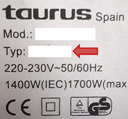 SpareHome 10 Bolsas 2 microfiltros para Aspirador Taurus Modelos ...