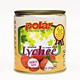 MW Polar Polar Lychee No Sugar Added, 11 Ounce (Pack of 12)