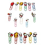AVIRGO 17 pcs Bookmark Paperclip Page Maker Set # 211-8