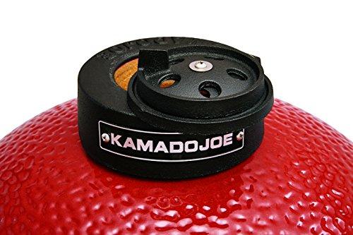 """Kamado Joe KJ23RH Classic Joe Grill, 18"""", Red"""