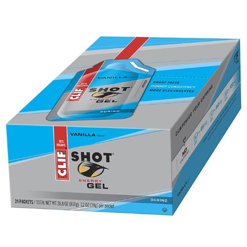 CLIFBAR Food Vanilla Gel (Box of 24)