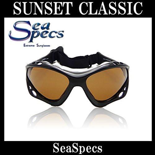 SEA SPECS SUNSET CLASSIC / シースペック ウォータースポーツ用 サングラス BLACK BROWN レンズ メンズ レディース UVカット 偏光レンズ SUP サップ