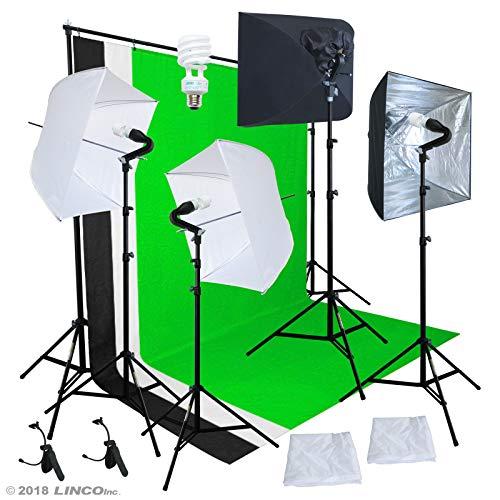 Linco Studio Lighting Light Video Photo Softbox Photography