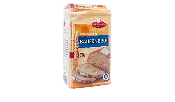 Bielmeier de cocina Meister Panificadora mezcla Granja Roggen Mixta Pan, 15 unidades (15 x 500 g): Amazon.es: Alimentación y bebidas