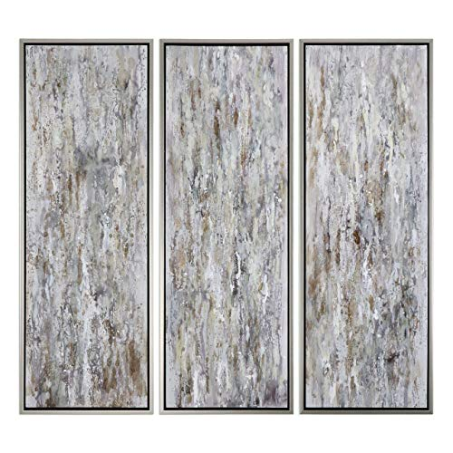 Grace Collection Feyock (Uttermost 3-Pc Shades of Bark Modern Wall Art Set)