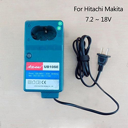 Asaki Boutique Battery Charger Replacement For Hitachi UC...
