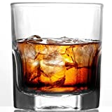 Set of 6 Old Fashioned Whiskey Glass, 10 oz Lead-Free Rocks Glass Set With Heavy Bottom, Ultra Clear Whiskey Glasses for Scotch, Bourbon, Vodka and Liquor Glassware