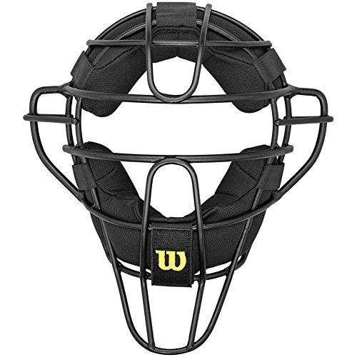 Wilson Dyna-Lite Aluminum Umpire Mask with Memory Foam ()