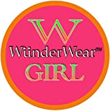 WunderGirl Girl's Dance Short With Lace Trim – 4 Pack