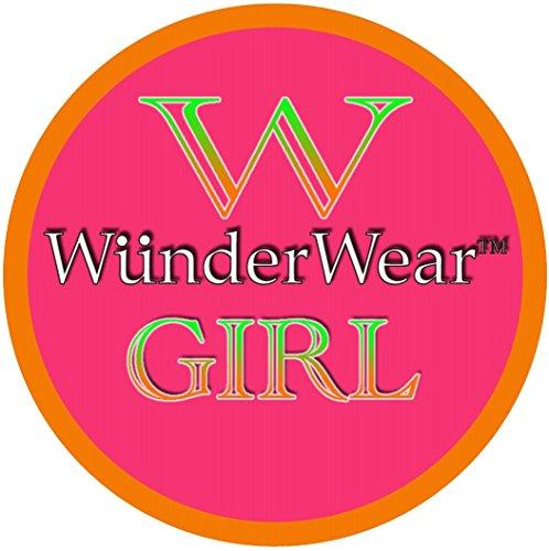 WunderGirl Girls Active Playground School Uniform Dance Shorts (4 Pack)