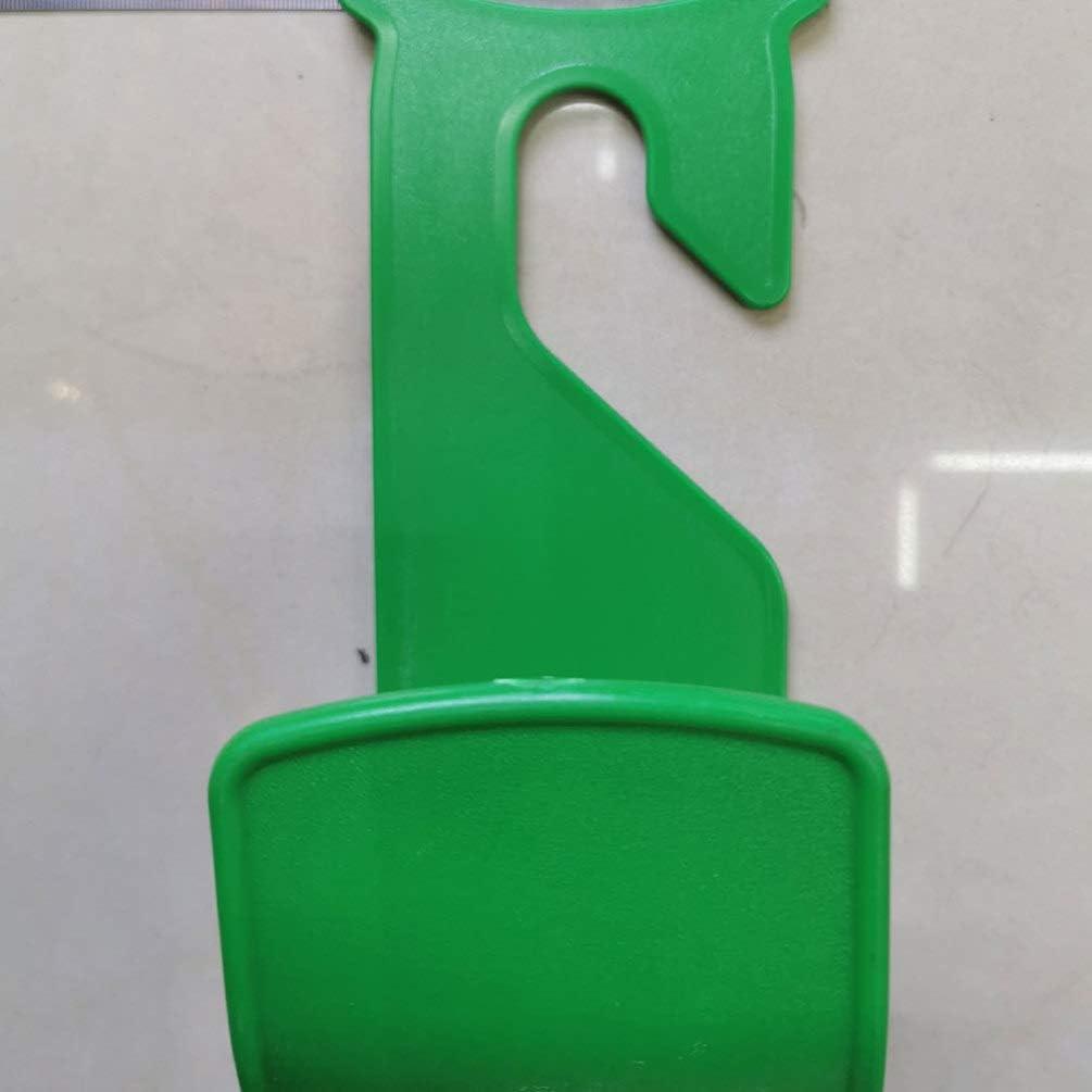 Los 25 11 11cm light green Cabilock 2 Piece Hose Holder Garden Wall Bracket for Water Hose Wall Mount Pipe Hook for Suspension Telescopic Hose for Home Light Green