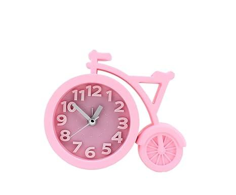 DAYAN Reloj con despertador Bike Estilo Home alarma Alarm ...