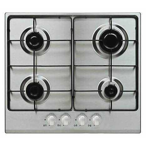 Cocina 60 cm tipo Gas Finlux FBGH.51XS 4 zonas de cocina ...