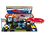 Play Zone Kid's Vehicle Parking Garage & Service Center Includes 4 vehicles