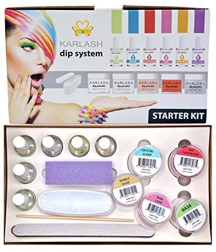Karlash Dip System Dipping Powder Starter Kit - Color Kit