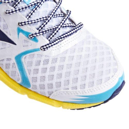 MIZUNO Wave Hitogami Zapatilla de Running Señora Blanco/Azul/Amarillo