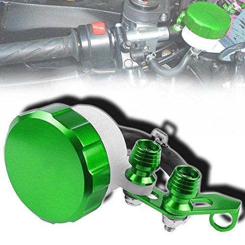 Cnc Metal Tail Rotor (CNC T6061 Aluminum Motorcycle Clutch / Brake Reservoir Fluid Tank Bottle Master Cylinder Green)