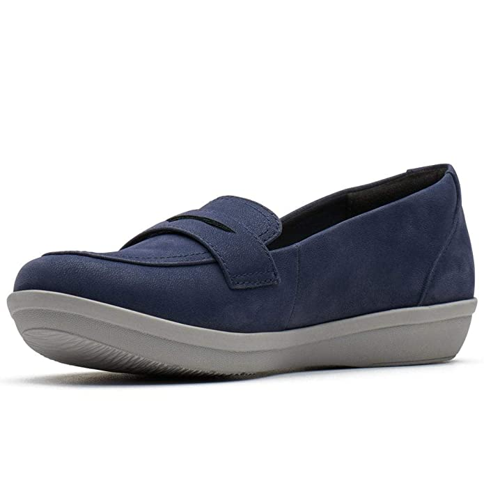 Clarks Ayla Form Womens Wide Fit Shoes: Amazon.es: Zapatos y complementos