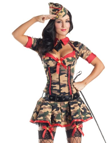Army Brat Body Shaper Adult Costume - Medium - Adult Army Brat Plus Size Costumes
