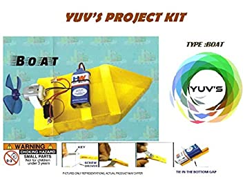 Buy YUV'S Boat Project KIT Online at Low Prices in India