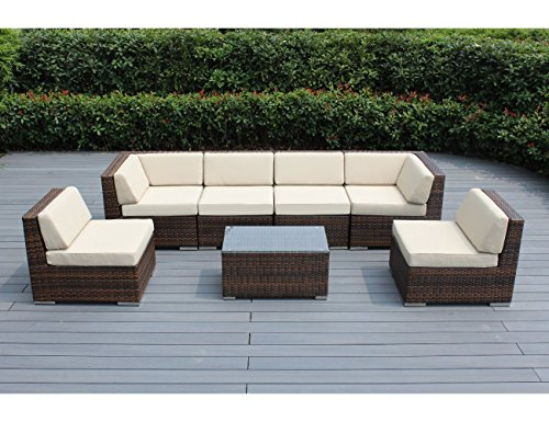 Ohana Furniture Sectional Conversation Cushions Noticeable
