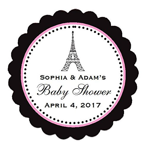 PARIS FRENCH EIFFEL TOWER Baby Shower Mini Diaper Cakes - Handmade by LMK Gifts