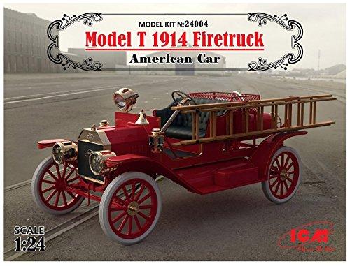 ICM 24004-Model Kit Model T 1914FIRE Truck American Car