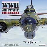 WWII Military Aircraft Mini 2019 Wall Calendar