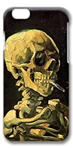 iPhone 6 Case, Smoking Skull Customize Protective Slim Hard 3D Case Cover for New Apple iPhone 6(4.7 inches)