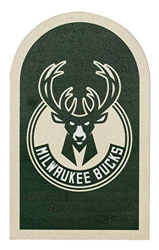 Applied Icon NBA Milwaukee Bucks Mailbox Door Logo Decal