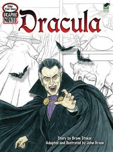 Graphic DRACULA Classic Stories Coloring