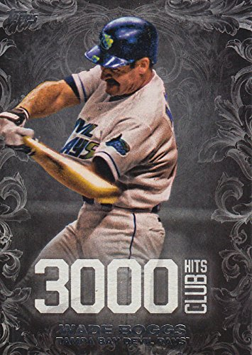 00 Hits Club #3000H18 Wade Boggs (Wade Boggs 3000 Hit Club)