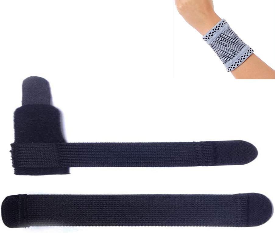 Amsahr dedo dedo entablillado Inmovilización Ortesis de mano ortesis ortopédica fijación - universal 4-8 cm- incluida la banda de muñeca