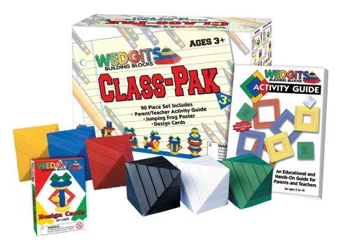 WedgIts Building Blocks Class-Pak (90-piece Set) by ImagAbility